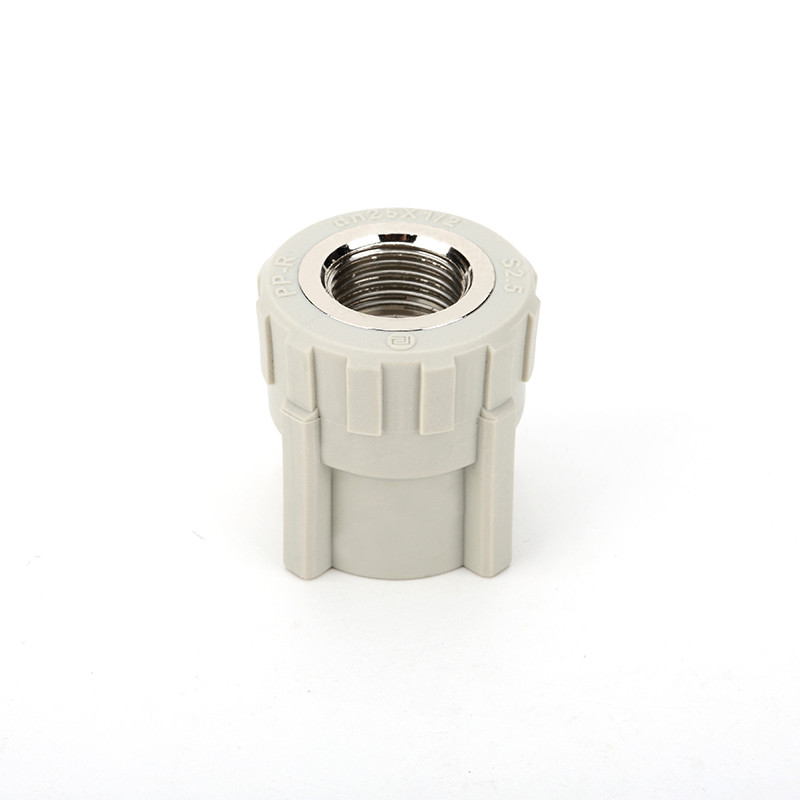 Ppr Female Threaded Socket , Energy Efficient Female Pipe Fitting With Oem Color